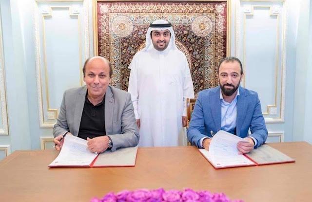راشد الشرقي يشهد توقيع عقد إدارة وتشغيل تلفزيون وإذاعة الفجيرة
