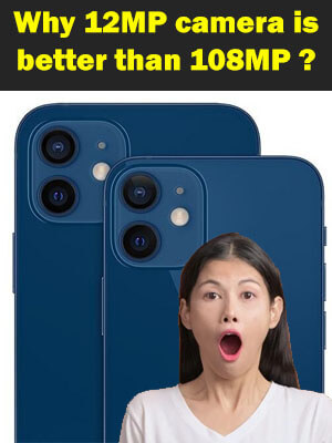 5 Reason why iPhone 12MP camera is better than Samsung 108MP