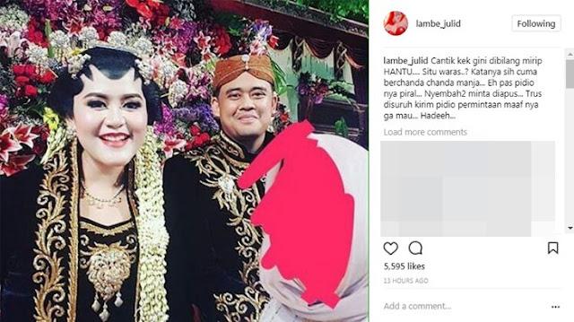 Hujat Putri Jokowi, Pasangan Suami-Istri Ini Memohon Videonya Dihapus dan Minta Maaf pada Netizen