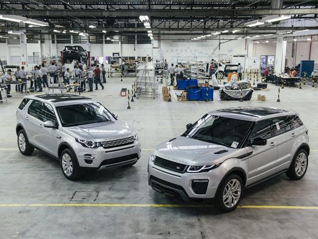 Range Rover Evoque será produzida no Brasil à partir do mês de junho