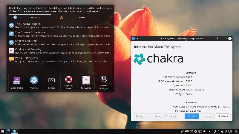 chakra_linux_distro