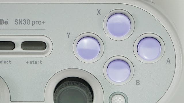 صورة مقرّبة لمجموعة التحكم SN30 Pro +.