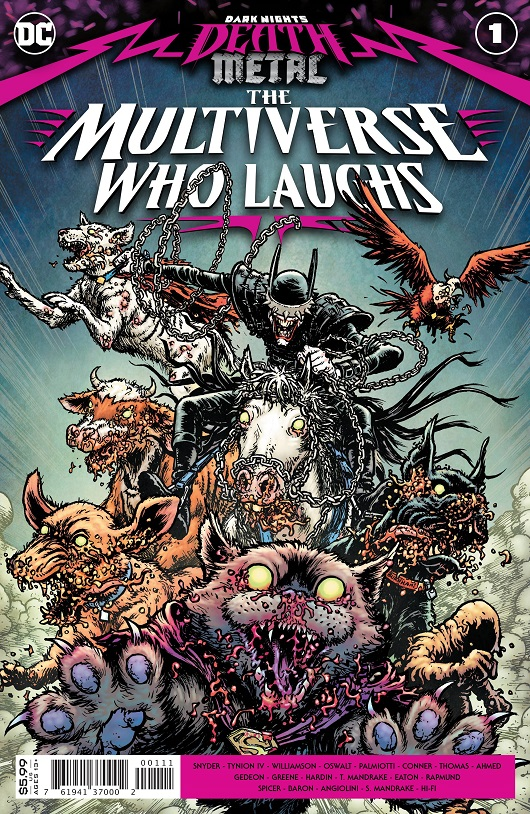 Cover of Dark Nights The Multiverse who Laughs #1