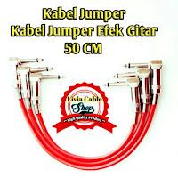 Kabel Jumper / Kabel Jumper Efek Gitar 50cm