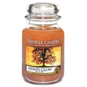 Honey Glow Yankee Candle Feature