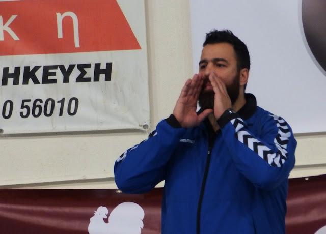 """Γιώργος Χαλκίδης: """"Είμαι χαρούμενος που αναλαμβάνω τον Διομήδη"""""""