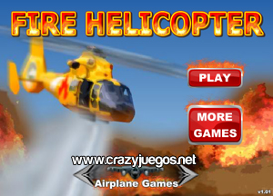 Jugar Fire Helicopter