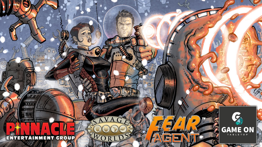 Pinnacle Savage Worlds Fear Agent crowdfunding