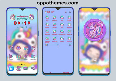√ Unicorn Company Theme For Oppo Color OS Android