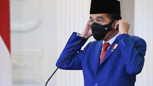 Jokowi Klaim RI Lebih Baik dari Negara Lain Soal Penanganan Covid-19, Demokrat Ketawa: Paling Buruk?