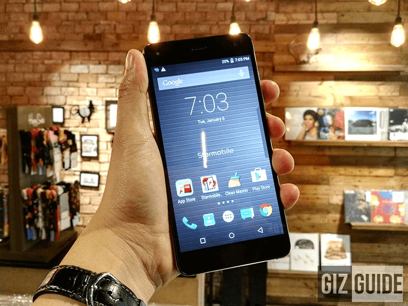 Starmobile Knight Spectra review