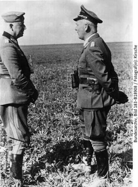 Manstein and Richtofen, 9 May 1942 worldwartwo.filminspector.com