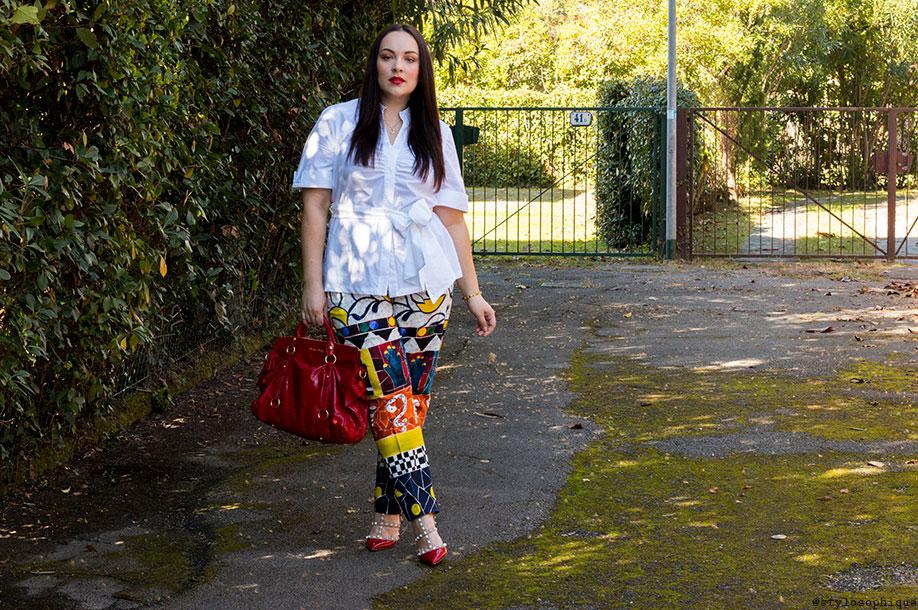 Iris Tinunin, Valentino Rockstud, Stella Jean for Marina Rinaldi