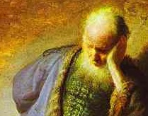 Detail from 'The Prophet Jeremiah Mourning over the Destruction of Jerusalem,' Rembrandt Harmenszoon Van Rijn, c. 1630