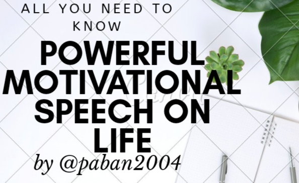Powerful Motivational Speech on Life