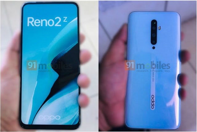 Live photos of OPPO Reno 2 and Reno 2Z with an unexpected design