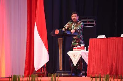 Panglima TNI Buka Rapat Pimpinan TNI Tahun 2021