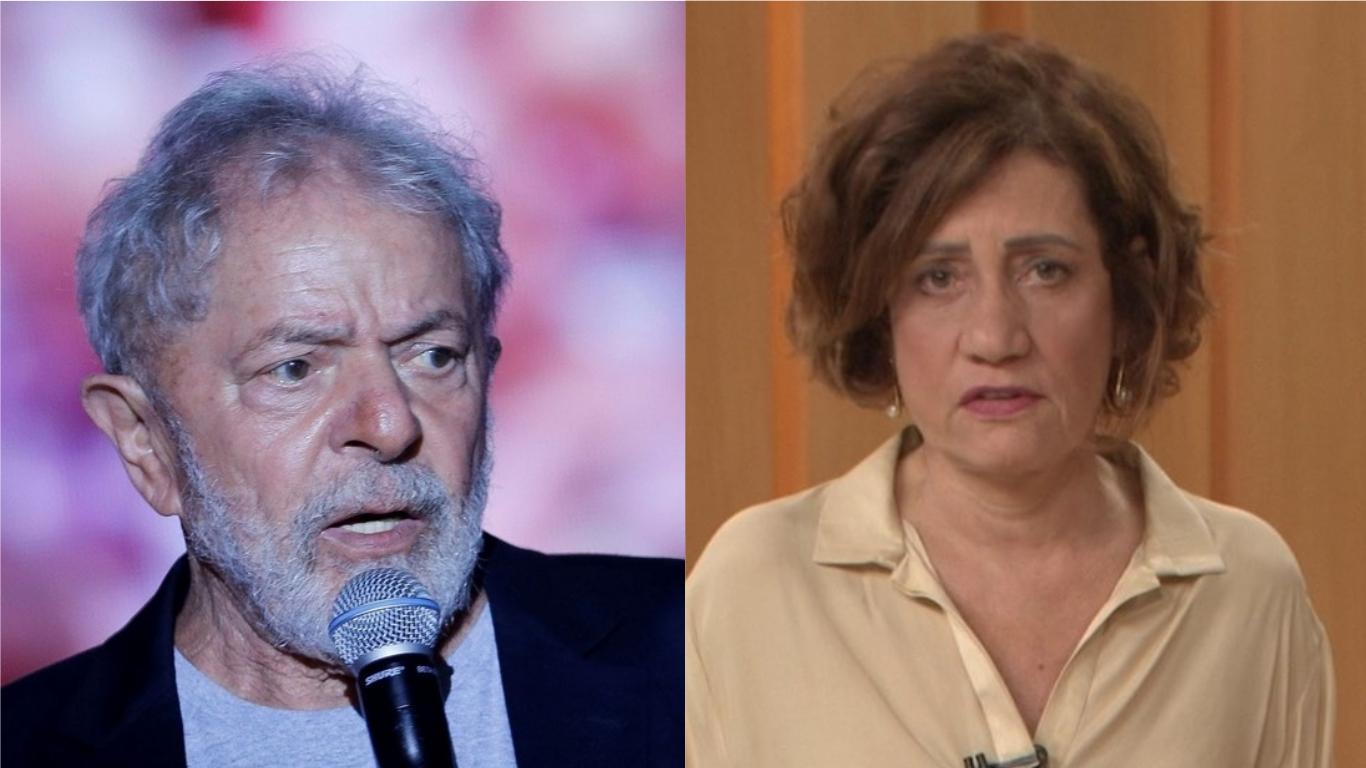 Lula e Miriam Leitão