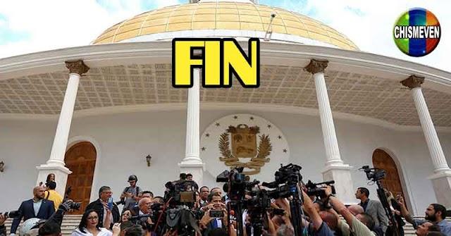 Diputados de la AN de Guaidó anunciaron el fin de sus funciones