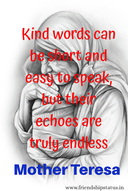 Mother Teresa Quotes on Charity