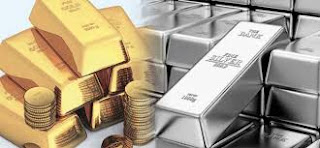 downfall in gold and silver prices