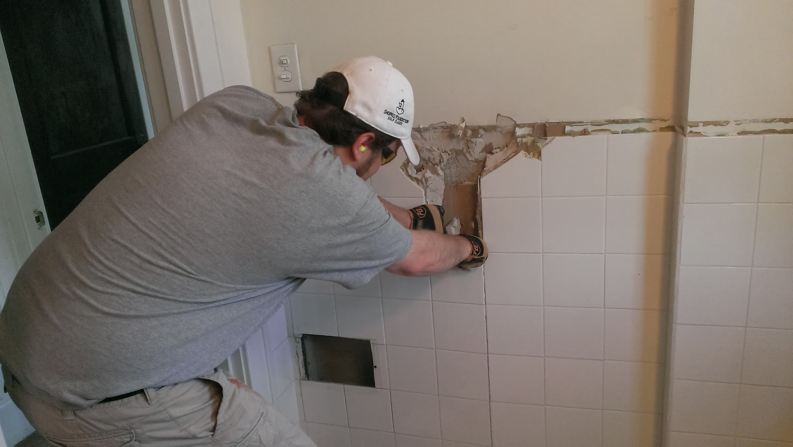 1925 Craftsman Getting Started On The Bathroom