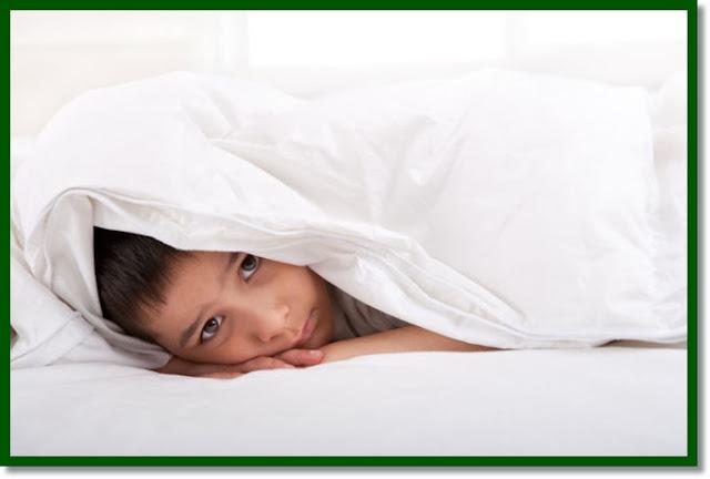 Udarea patului la copii