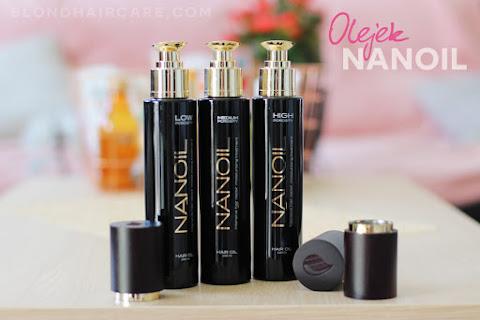 Nanoil - pierwsze olejki dobrane do porowatości włosów | Moja opinia - czytaj dalej »
