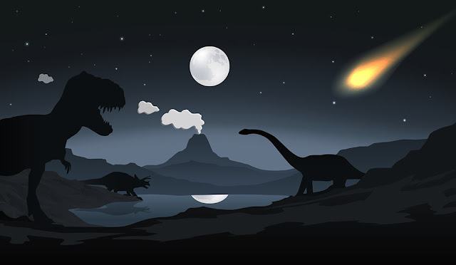 In death of dinosaurs, it was all about the asteroid - not volcanoes