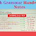 English Grammar Handwritten Notes - Download PDF