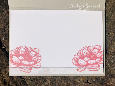 Andrea Sargent, Valley Inspirations, Stampin' Up!, Tasteful Touches, In Good Taste DSP, Forever Flourishing dies, Butterfly Wishes