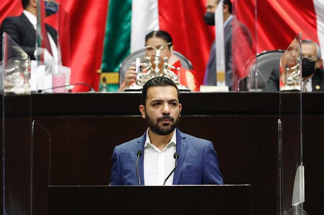 Presenta José Elías Lixa moción suspensiva al dictamen que expide las leyes secundarias de la reforma judicial