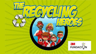 Logo de Recycling Heroes