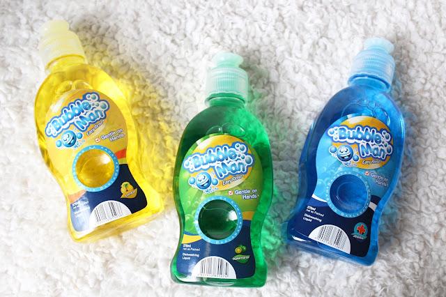 Bubble Man Dishwashing Liquid Soap
