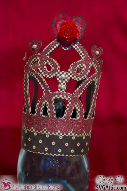 3d paper crown