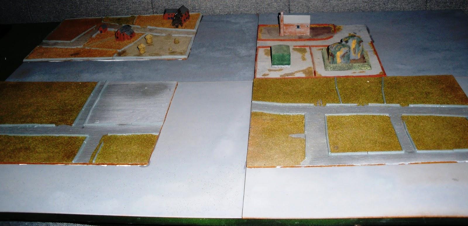 The Eastern Garrison: 6mm Terrain Boards