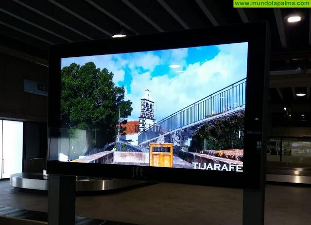 Tijarafe se promociona nuevamente en el Aeropuerto de La Palma
