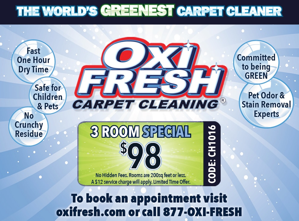 Pekin Area Chamber Of Commerce Oxi Fresh Carpet Cleaning