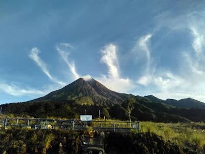 Lafadz Allah Muncul di Langit Yogyakarta