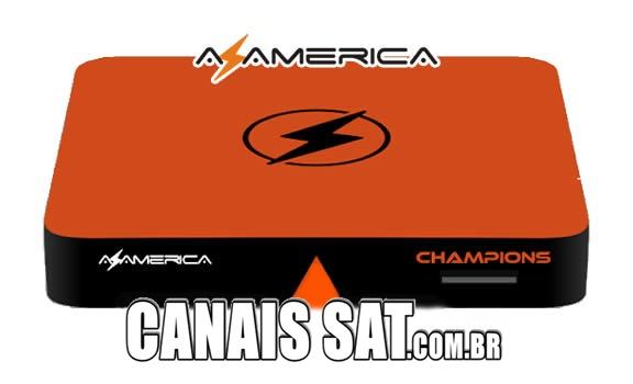 Azamerica Champions IPTV Nova Atualização V1.28 - 16/12/2019