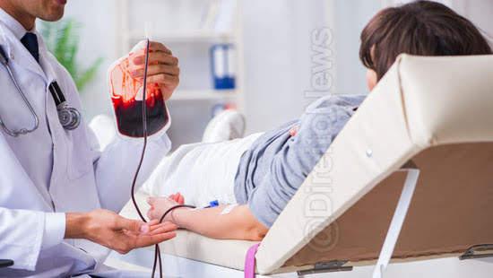 mantida sentenca autorizacao transfusao sangue direito