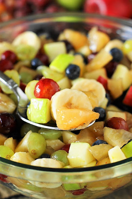 Apple Pie Filling Fruit Salad Image