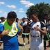 Jogadores do Ceará homenageiam Reinaldo Barros Torres após decisão da Copa Água Branca