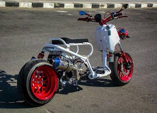 Modifikasi Honda Beat gaul