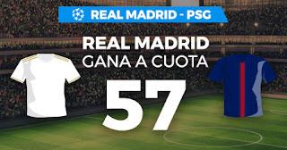Paston Megacuota Champions Real Madrid vs PSG 26-11-2019