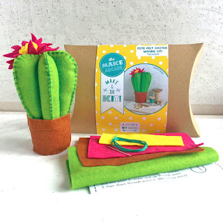 The Make Arcade Felt Cactus Kit Review :: Embellished Elephant