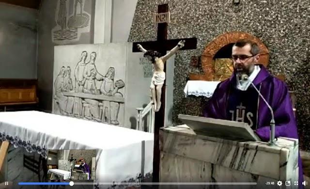 Niedzielna msza z Kościoła w Gogołowie