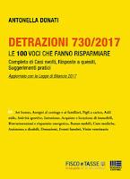 Detrazioni 730/2017 - Le 100 voci che fanno risparmiare