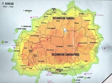 Daftar Nama Desa Di Dua Kecamatan Pulau Bawean