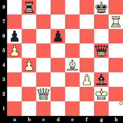 Les Blancs jouent et matent en 4 coups - Ljubomir Ljubojevic vs Ochoa De Echaguen, Bilbao, 1987